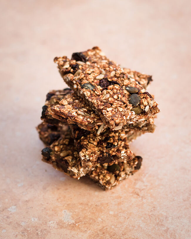 Vegan oat bars recipe