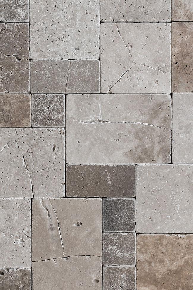 Backdrop 'broken tiles' is a special one, old broken tiles in neutral tones