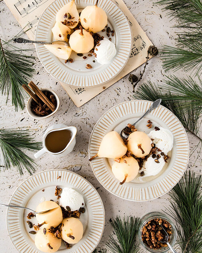 Best poached pears recipe ever
