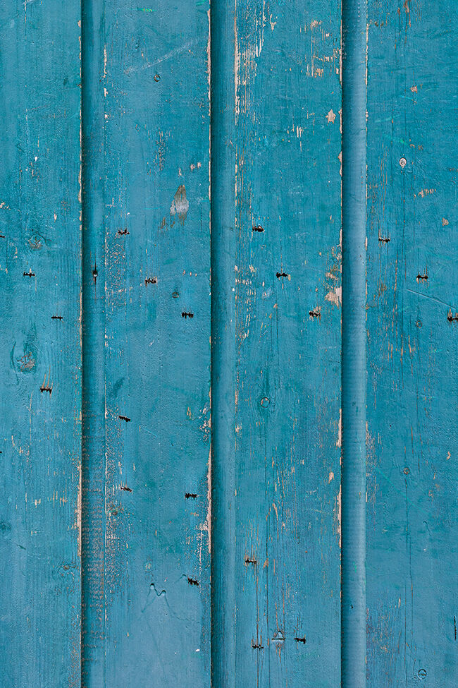 Caribbean wood is a turquoise wooden vinyl surface