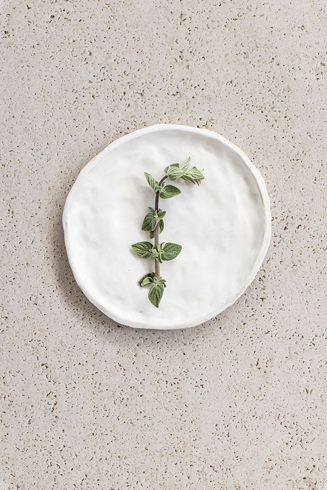 Pitted cement natural beige vinyl backdrop for photography and styling