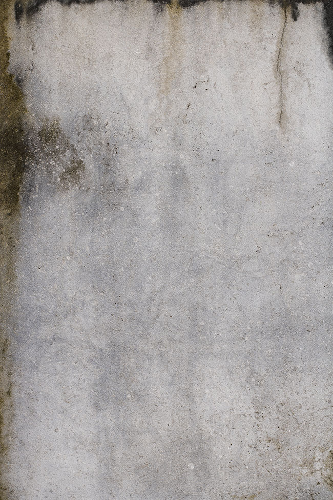 Backdrop 'grungy' is cool and edgy. Light surfaces with detailed smudges